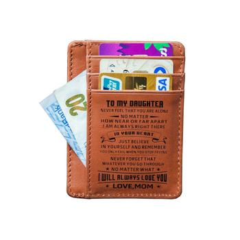 Mom To Daughter, Lighten Up – Enjoy Life Cowhide Card Wallet xmos daughter card ak4399 supports up to 32bit 384k