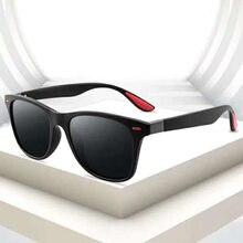 Lunettes de soleil polarisantes UV400 pour hommes, nouvelle mode, carrées, rétro, Design de marque, classiques, pour la pêche