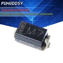 100PCS IN4007 1A M7 1N4007 SMD DIODO 1000V Retificador de Diodo