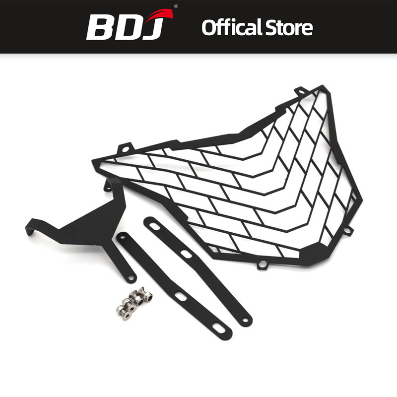 BDJ For <font><b>Honda</b></font> <font><b>CB500X</b></font> <font><b>2016</b></font> 2017 Front Lamp Headlight Grille Guard Protector Cover CNC Aluminum image