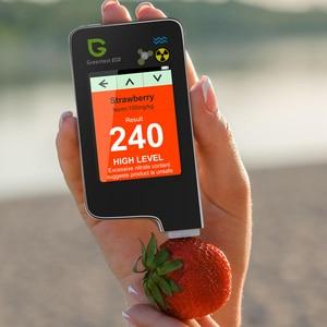 Image 2 - Greentest ECO 5F 3 ב 1 דיגיטלי מזון חנקה בודק ריכוז מטר מנתח פירות/בשר/דגי מים קשיות קרינה מטר