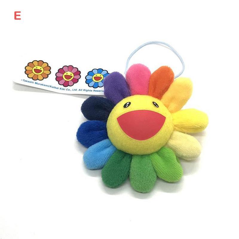 Sunflower Plush Brooch Murakami Sun Flower KaiKi Bag Hanging Ornaments Bag Pendant