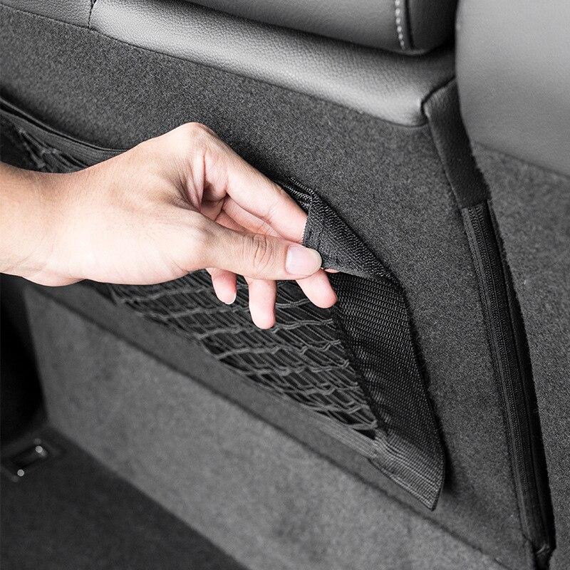 Akcesoria samochodowe organizer Kofferbak Netto Nylon Suv Auto Cargo Opslag Mesh Houder uniwersalny do torby Netten kieszonka podróżna