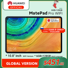 Versione globale HUAWEI MatePad Pro WIFI 6GB128GB Tablet Android 10 Turbo 10.8