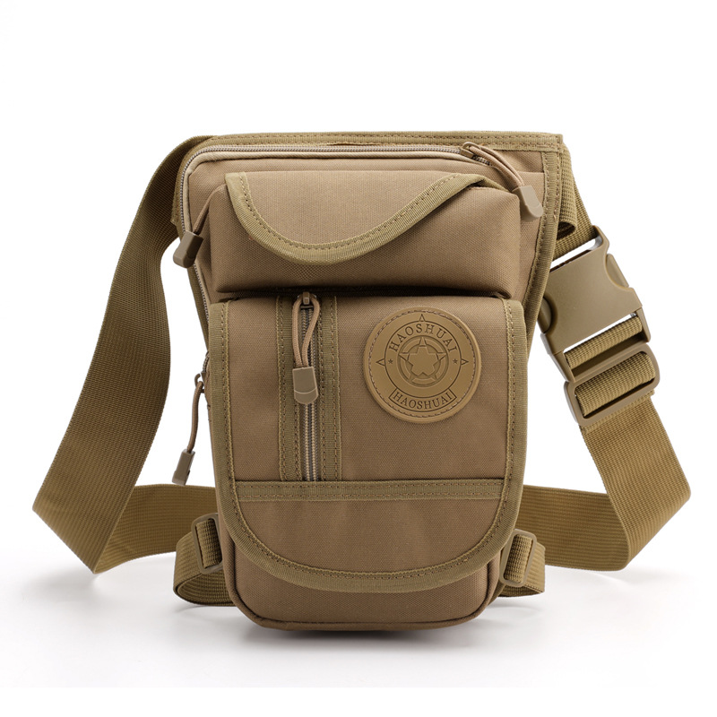 High Quality Male Military Assault Waist Pack Bags Multi-Pockets Motorcycle Riding Hip Shoulder For Men Nylon Fanny Drop Leg Bag