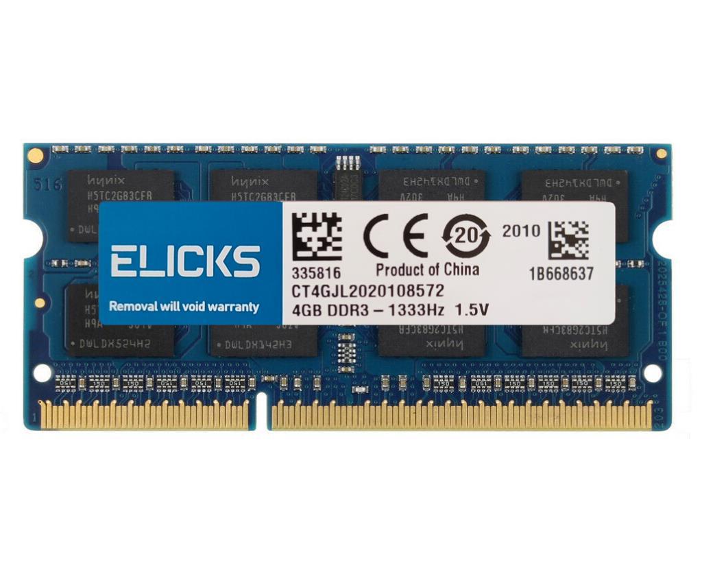 ELICKS 1GB 2GB 4GB 8GB DDR2 DDR3 RAM DDR4 RAM Notebook Laptop memories 533 667 800 1066 1333 1600 1866 2133 2400 2666MHz 4