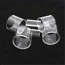 5 sztuk YUHETEC wymiana szklanej rurki dla Voopoo UForce T2 T3 T1 3 5ml zbiornik przeciągnij 2 zestaw Mini szkło pyrex tanie tanio Szklana Rurka