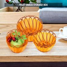 Новая ротанг плетение круглая корзина для хранения фруктов блюдо ротанговая корзинка под хлеб для кухни еда пикника хлеба мини-контейнер