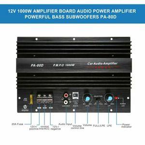 Image 4 - PA 80D 12V 1000W Mono samochodowy sprzęt Audio wzmacniacz mocy płyta wzmacniacza subwoofera
