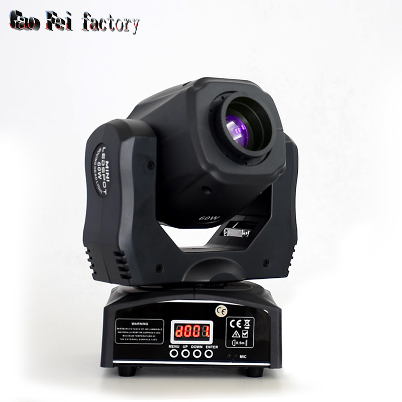 Pocket Pro LED Powerful Moving Head Mobile DJ Light