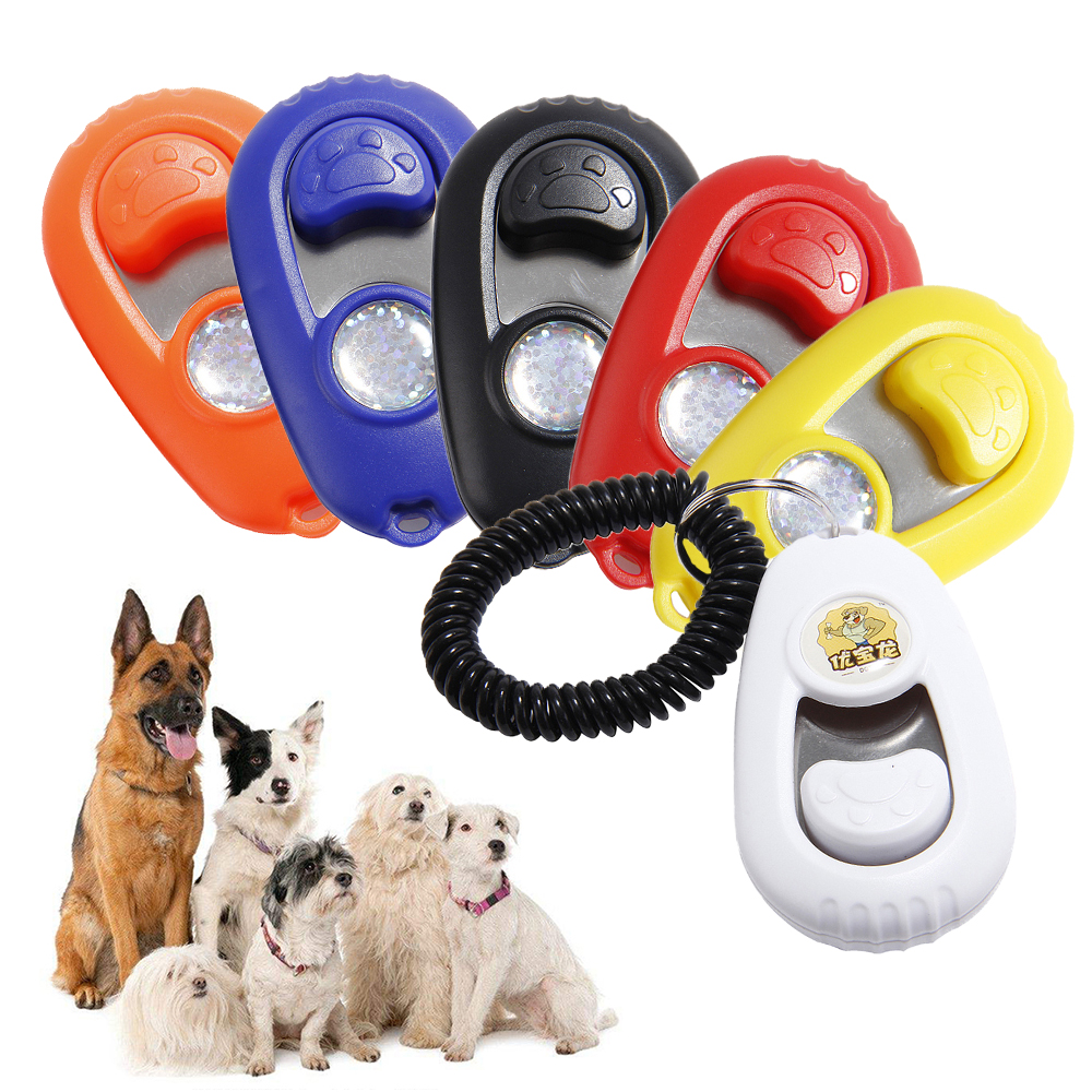 Dog Training Clicker font b Pet b font Cat Dog Training Clicker Plastic New Dogs Click