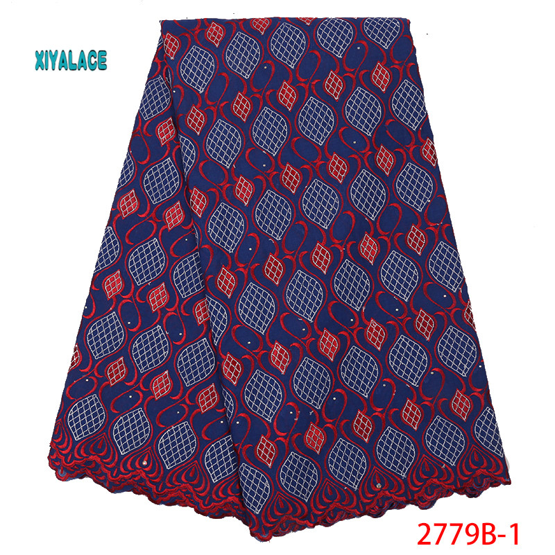 Hot Selling African Swiss Lace Fabrics Nigerian Lace Fabric 2019 High Quality Lace Pink French Lace Fabric For Wedding YA2779B-1