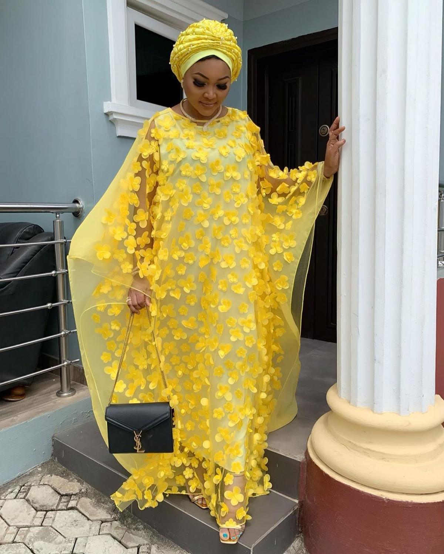 African Dress For Women Vetement Femme 2019 Dashiki Bubu Chiffon Gowns For Party Big Plus Size