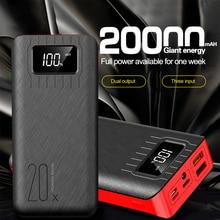 20000mAh Power Bank Portable Charging Poverbank Mobile Phone