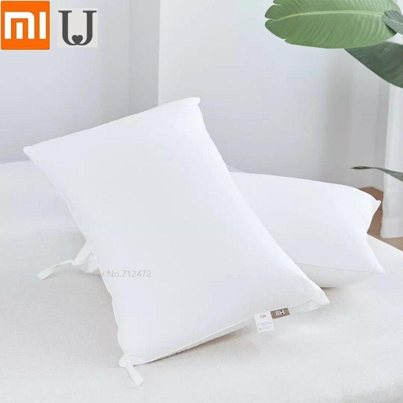 Xiaomi 8H Antibacterial Fiber Pillow Fresh And Antibacterial Cotton Sleep Well Stereo Pillow Cushion