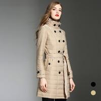 BURDULLY 2020 Autumn And Winter Women's Parka Coat Women's Windproof Cotton Jacket Warm Jacket Hood New Collection of Designer