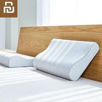 Xiaomi 8H Cotton Pillowcase Xiaomi Memory Foam Pillow H1 Antibacterial Outer Pillowcase High Elastic Skin-friendly Pillow Coat