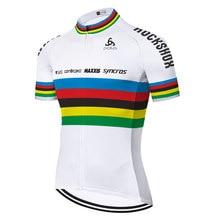 Equipe scottes-rc camisa de ciclismo 2020 verão secagem rápida respirável manga curta camisa de bicicleta dos homens roupas de ciclismo