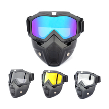 Tactical Full Face Goggles Kids Water Soft Ball Paintball Airsoft CS Toys Guns Shooting