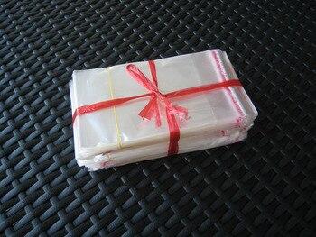 100x clear Self Adhesive Seal Plastic Bag 30x24cm opp bag /poly bag free shipping