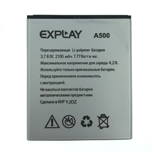 2pcs NEW Original 2100mAh A500 battery for EXPLAY High Quality Battery+Tracking Number