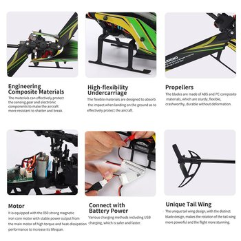 JJR/C M05 RC Helicopter 6 Axis 4Channels 2.4G Remote Control Electronic Aircraft Altitude Hold Quadcopter Drone Toys Plane 4