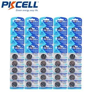 100 шт/20 карт PKCELL CR2450 кнопочные батареи KCR2450 5029LC LM2450 литиевая батарея для монет 3 в CR 2450 для часов электронная игрушка
