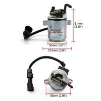 12V Fuel Shutdown Device shut off solenoid Valve 04287583 0428-7583 For Deutz Engine 1011 YC101554