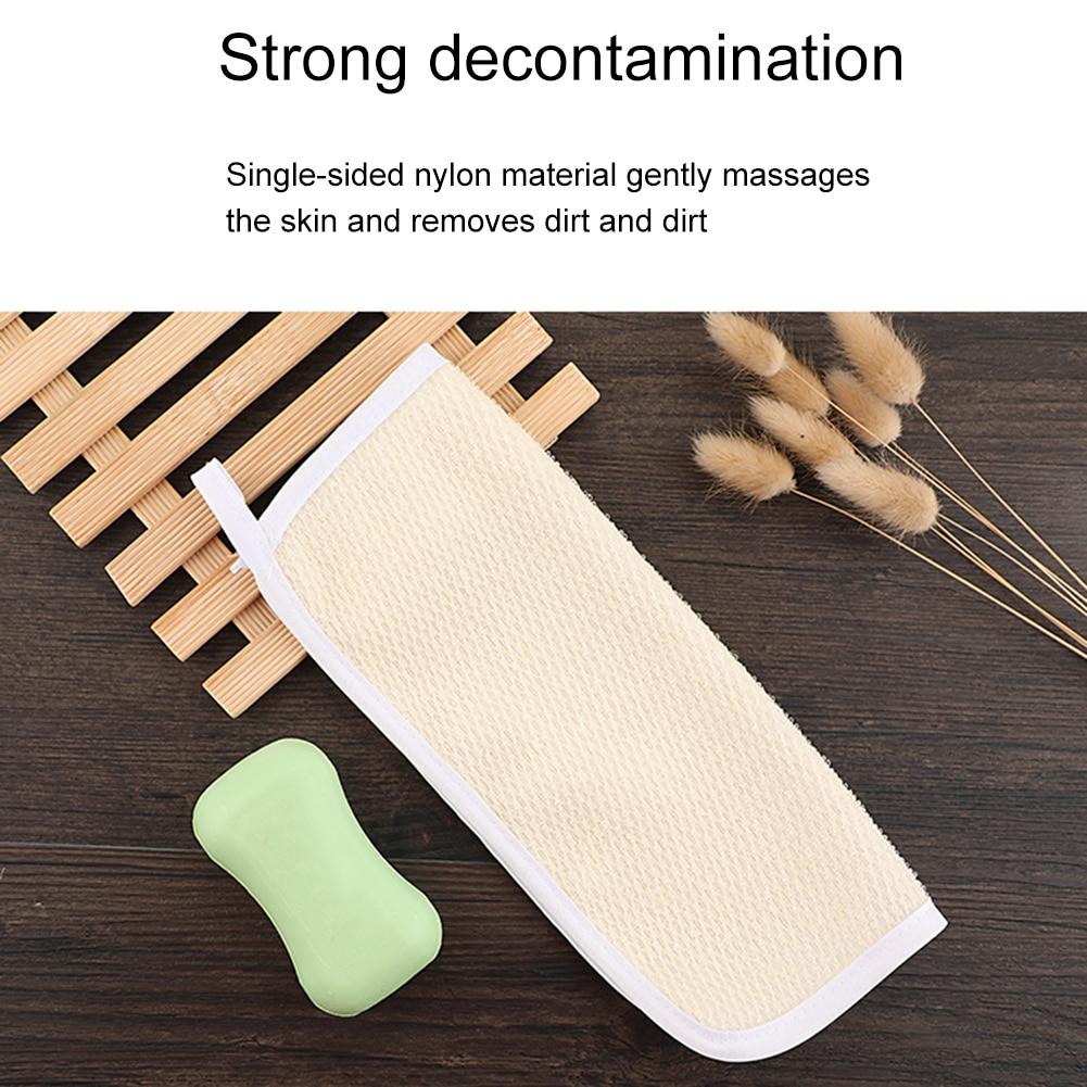 Exfoliating Face Body Wash Cloths Nylon Towel Soft Weave Bath Cloth Exfoliating Scrub Cloth Massage For Women Man