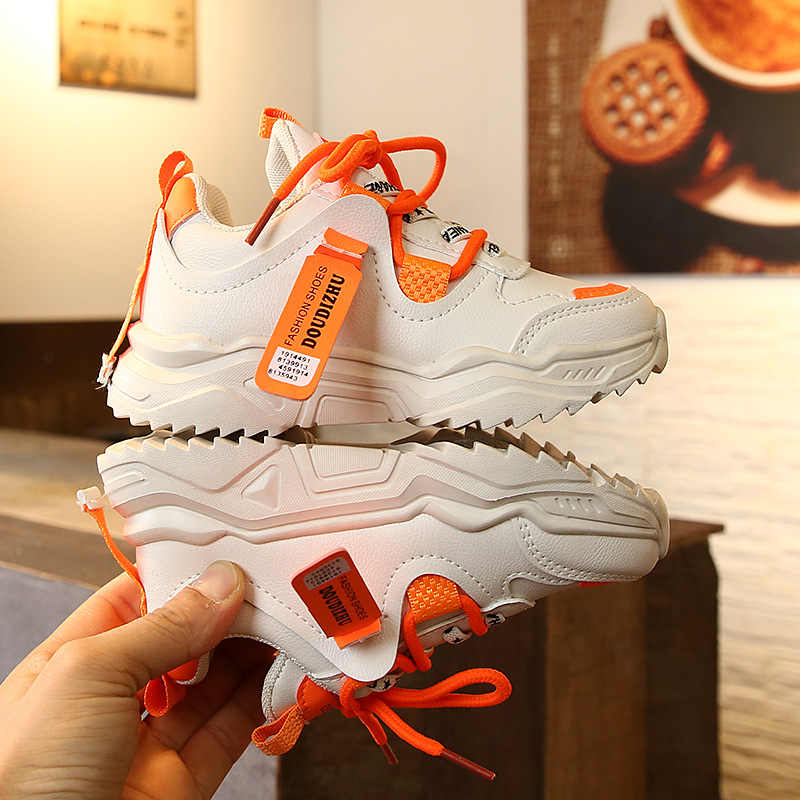 Kids Boys Outdoor Running Shoes Comfortable Warm Sneakers High Elatic Fashion
