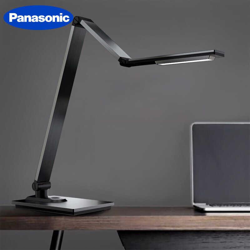 Panasonic Modern Metal Brushed Aluminum Saving Folding Touch Led Desk Lamp Office Study Reading Working Table Night Light Desk Lamps Aliexpress