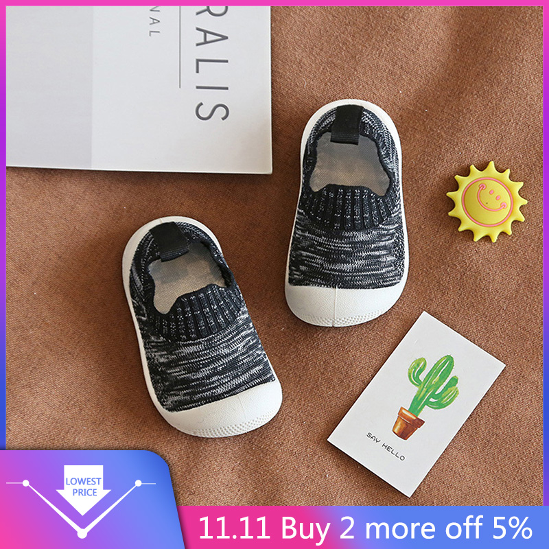New Children Toddler Kids Baby Girls Boys Letter Mesh Breathable Sport Sneakers Running Shoes  Fashionable Barefoot Sneakers