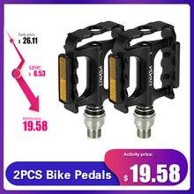 Lixada pedales para bicicleta de montaña y carretera, de liberación rápida, con adaptador extensor de Pedal