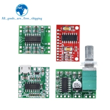TZT PAM8403 Super Mini Digital Amplifier Board 2 * 3W Class D Digital 2.5V To 5V Power Amplifier Board Efficient