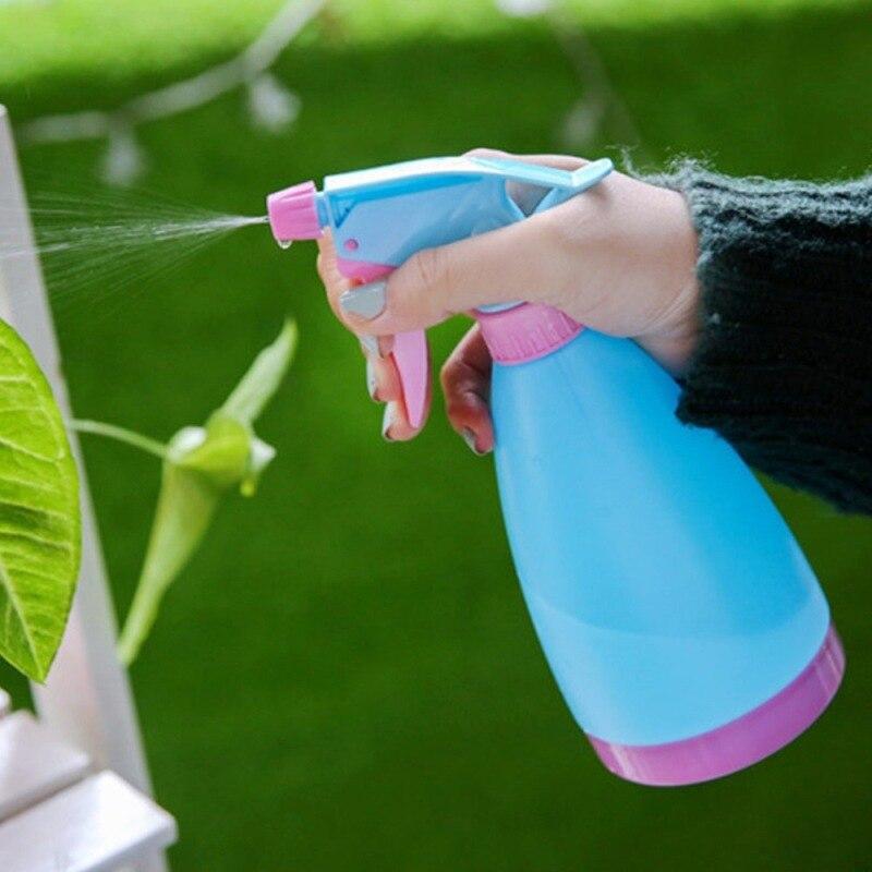 1 шт. 400 мл маленькая Лейка ирригационные инструменты сеялки спрей бутылка ручного давления заливки горшок с регулируемым соплом
