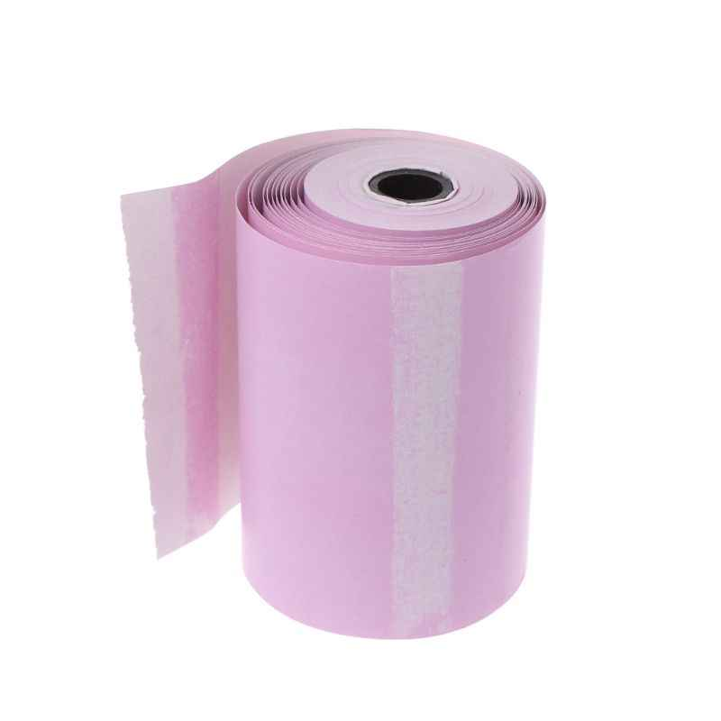 Papel fotográfico Mini adhesivo imprimible rollo impresoras térmicas impresión transparente a prueba de manchas portátil dropshipping