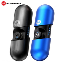 Motorola VerveBuds 400 Wireless Earphone with Bluetooth 5.0 Headsets IPX6 Waterproof Support Siri AI Assistant for Huawei Xiaomi