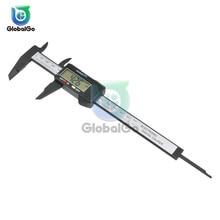 Измерительный инструмент из нержавеющей стали цифровой суппорт 150 мм Messschieber Paquimetro измерительный инструмент штангенциркули