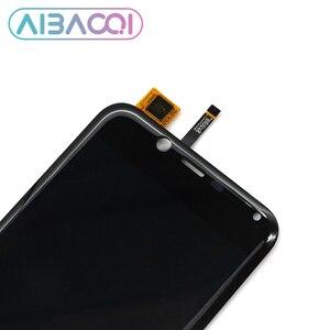 Image 4 - AiBaoQi yeni orijinal 5.0 inç dokunmatik ekran + 1280x720 LCD ekran meclisi değiştirme Cubot sihirli Android 7.0 telefon