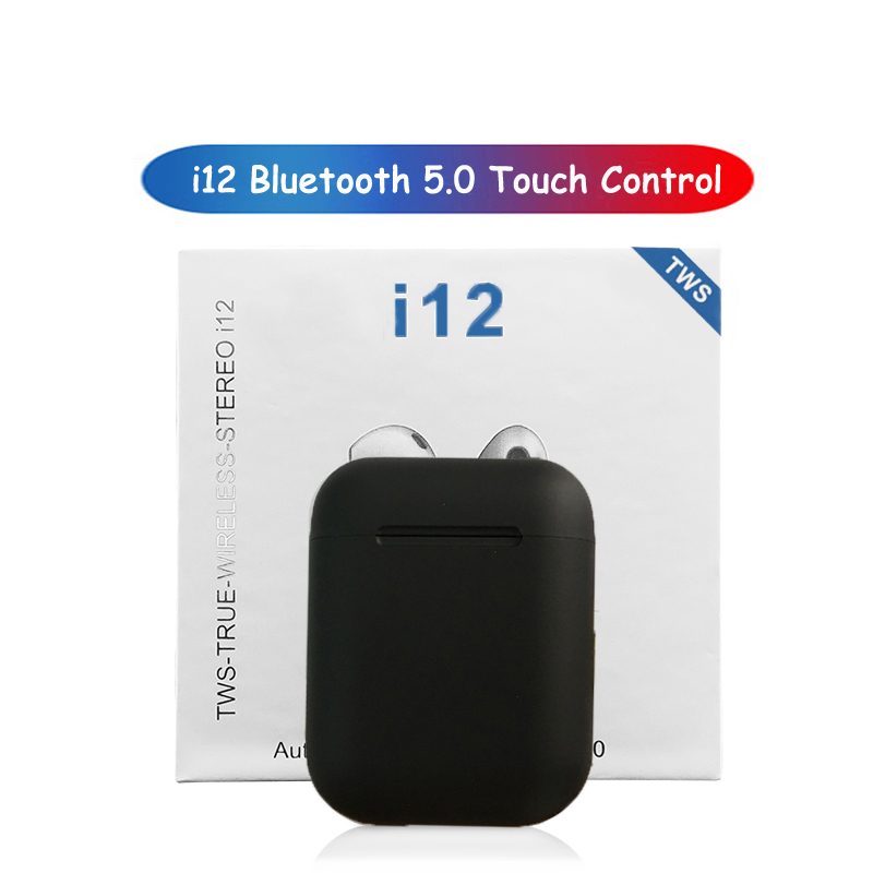 I12 I11 I7S Tws Bluetooth Earphone Wireless Earphones Touch Control Earbuds 3D Surround Sound & Charging Shopify Dropshipping