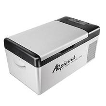 Portátil dc 24v 12v carro geladeira freezer refrigerador 15l auto geladeira compressor de refrigeração rápida casa piquenique icebox