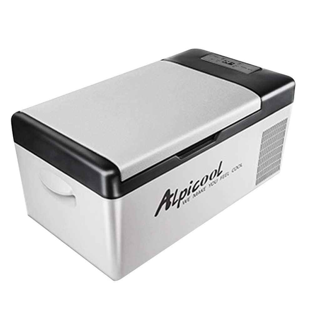 Portable DC 24V 12V voiture réfrigérateur congélateur refroidisseur 15L Auto réfrigérateur compresseur rapide réfrigération maison pique-nique glacière