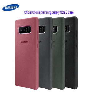Image 1 - Samsung Galaxy Note 8 Case 100% Original Official Genuine Suede Leather Protector Case Samsung Note 8 Case Galaxy Note8 SM N950F