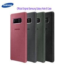 Samsung Galaxy Note 8 Caso di 100% Originale Ufficiale Vera Pelle Scamosciata In Pelle di Caso della Protezione di Samsung Nota 8 Caso Galaxy Note8 SM N950F