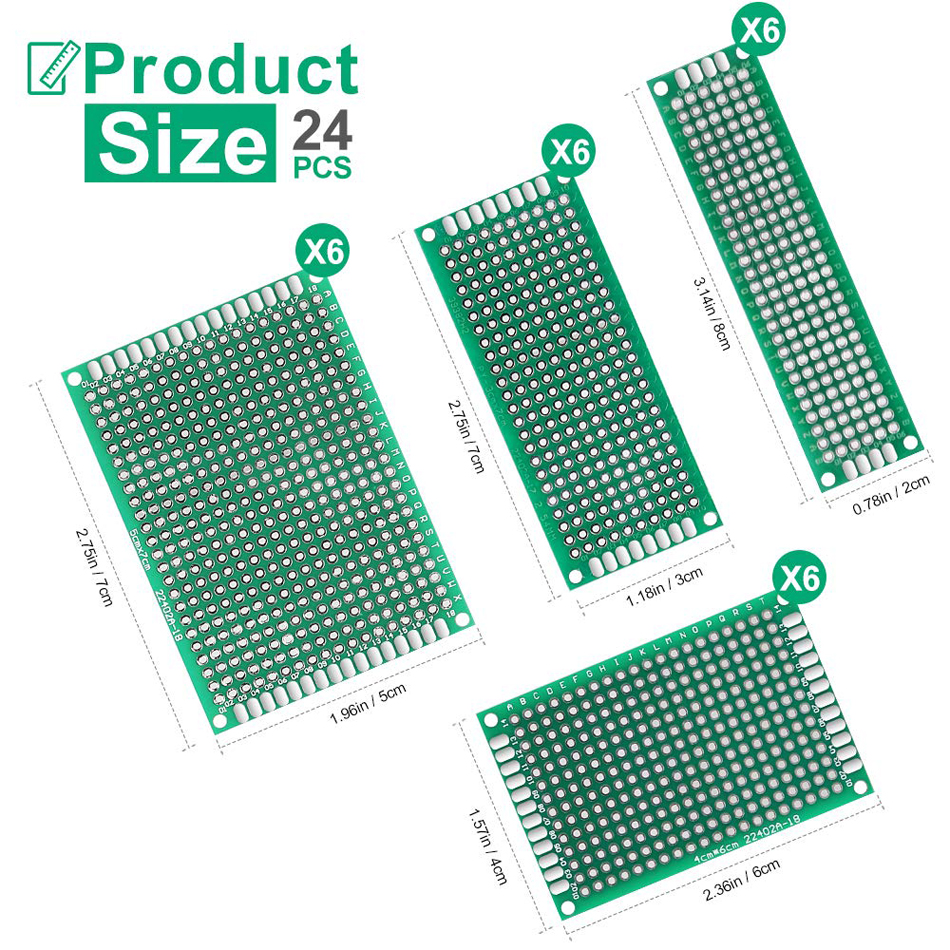 Double Side Proto Perforated PCB Circuit Board
