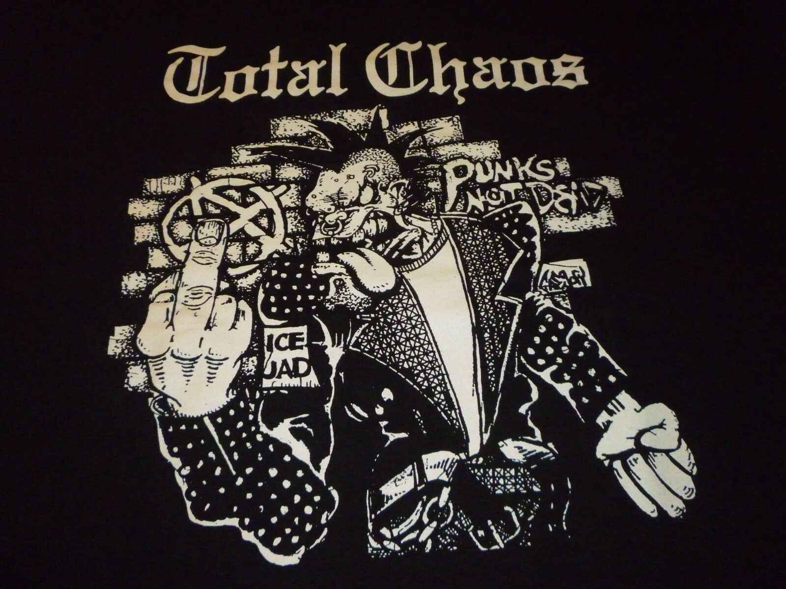 Total Chaos Shirt ( Size L ) NEW!!!Men And Woman T Shirt Free Shipping