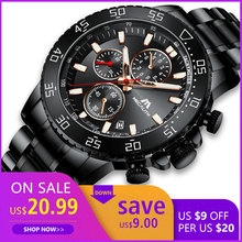 Get more info on the Relogio Masculino MEGALITH Sport Waterproof Analogue Watch Men Fashion Quartz Wristwatch Gents Luminous Chronograph Clock 8087M