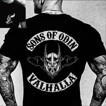 SONS OF ODIN T-SHIRT  Hugin and Munin Walhalla Raben Wikinger Odhin Odin Thor T Shirt 1
