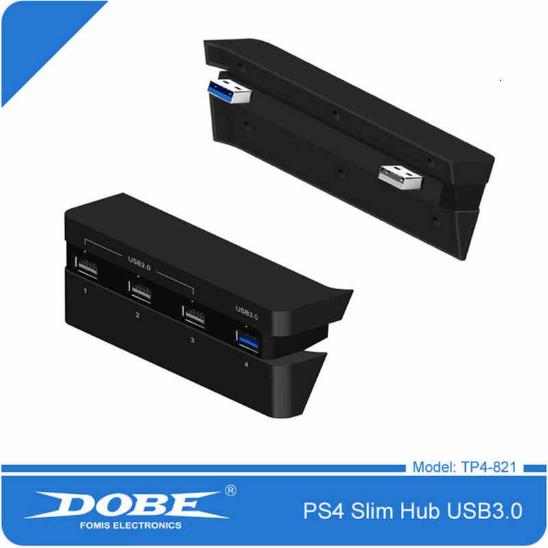 PS4 スリムアクセサリーステーション 4 スリムコンソール USB ハブ 3.0 高速 & 2.0 USB ポート拡張 USB アダプタプレイステーション 4 スリム