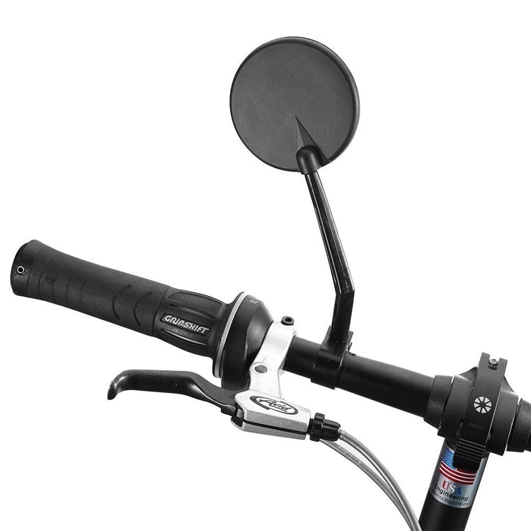 360 Degree Rotation Bicycle Rearview Mirrors MTB Bike Handlebar Universal Adjustable Cycling Convex Rear View Mirror Accessories